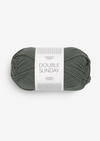 DOUBLE SUNDAY, dimmigt olivgrön 9071