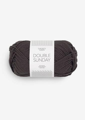 DOUBLE SUNDAY, brun lakrits 3890