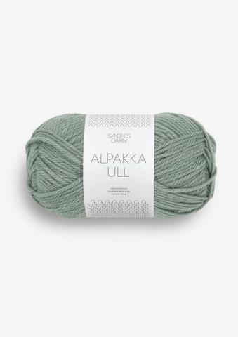Alpakka Ull, eukalyptus 8051