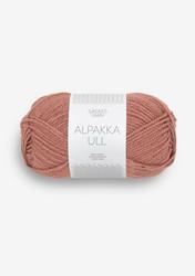 Alpakka Ull, luumunroosa 3553