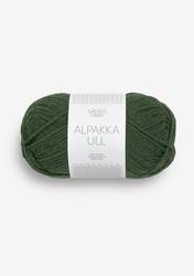 Alpakka Ull, metsänvihreä 8082