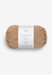 Alpakka Ull, camel 2542