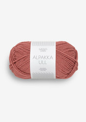 Alpakka Ull, marsala 4034