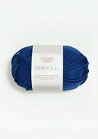Sandnes Merinoull, blå 5846