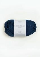 Sandnes Merinoull, mörkblå 6062