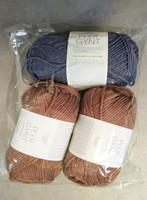 Fyndhörna: Sandnes Peer Gynt 3 st, brun 3062 + blå 6072