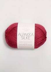 Sandnes Alpakka Silke, hallonröd 4327