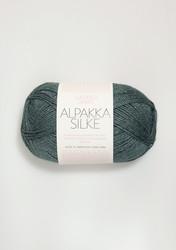 Sandnes Alpakka Silke, petroleum 7572