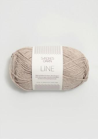 Sandnes Line, vaalea beige 2331