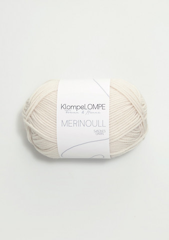 Sandnes KlompeLompe merinoull, kitt 1013
