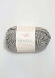 Sandnes merinoull, grå 1042