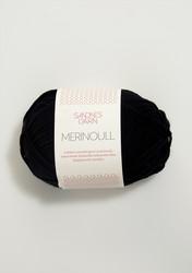 Sandnes merinoull, svart 1099