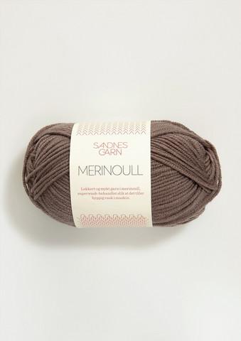 Sandnes merinoull, mellanbrun 3161