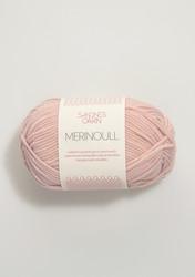 Sandnes merinoull, puderrosa 3511