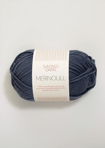 Sandnes merinoull, blågrå 6071
