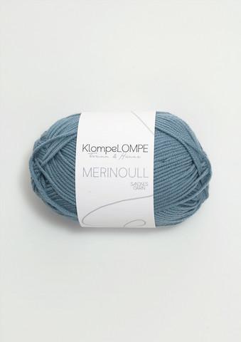 Sandnes KlompeLompe merinoull, jeansblå 6033