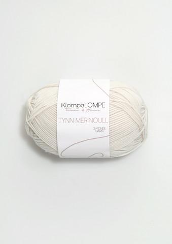 Sandnes KlompeLompe tynn merinoull, kitt 1013