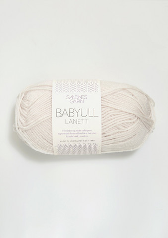 Sandnes Babyull Lanett, kitt 1015