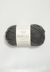 Sandnes Babyull Lanett, mörkgrå 1053