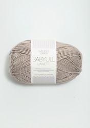 Sandnes Babyull Lanett, melerad beige 2650