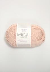 Sandnes Babyull Lanett, puderrosa 3511