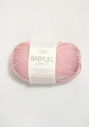 Sandnes Babyull Lanett, ljusrosa 4312