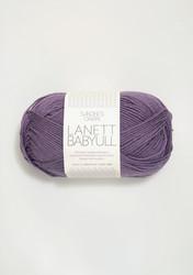 Sandnes Babyull Lanett, lila 5042