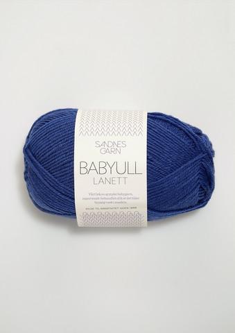 Sandnes Babyull Lanett, blå 5846