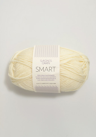 Sandnes Smart, valkoinen 1002