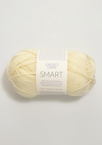 Sandnes Smart, luonnonvalkoinen 1012