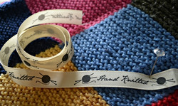 Hand knitted-band