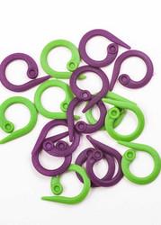 Knitpro pyöreät, avattavat silmukkamerkit