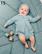 Sandnes mönsterhäfte baby 1709