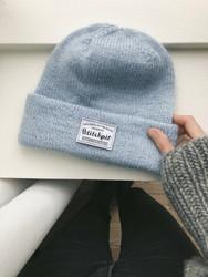 'New knits on the block' märke