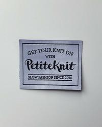 'Get your knit on' märke