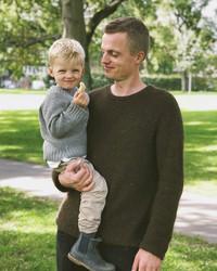 Northland sweater, på svenska