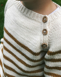 Seaside sweater, ruotsinkielinen ohje
