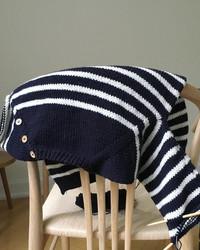 Seaside sweater - junior, ruotsinkielinen ohje