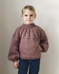 Sunday sweater - junior, ruotsinkielinen ohje