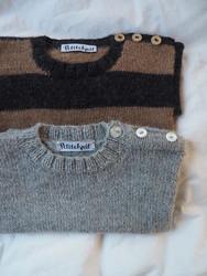 Wilfreds tröja, mönster på svenska