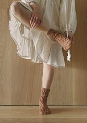 Sandnes mönsterhäfte Tema 64 Sokker