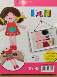 Pysselpaket för barn: Docka
