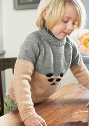 Sandnes mönsterhäfte 2103 Mjukt till barn