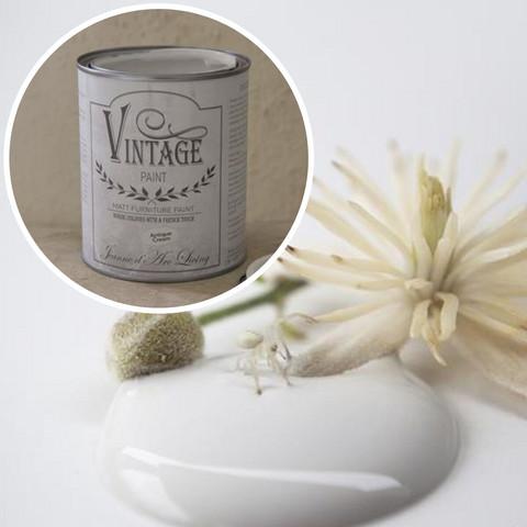 Kalkkimaali - JDL - Vintage Paint - Antique Cream - Antiikinvalkoinen - 100 ml