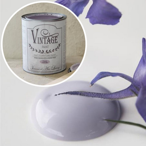 Kalkkimaali - JDL - Vintage Paint - French Lavender - Violetti - 100 ml