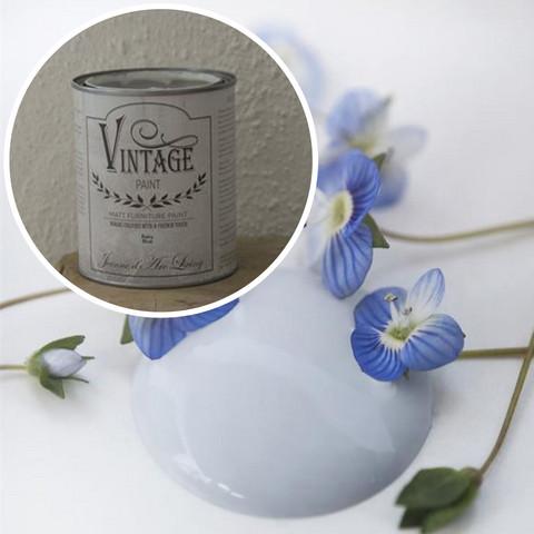 Kalkkimaali - JDL - Vintage Paint - Baby Blue - Vaaleansininen - 100 ml