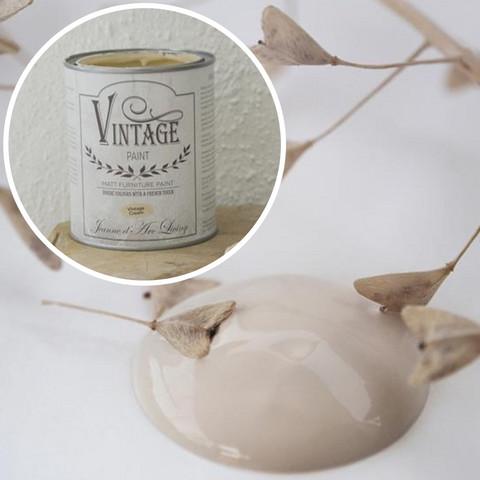 Kalkkimaali - JDL - Vintage Paint - Vintage Cream - Vanha valkoinen - 100 ml