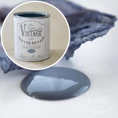 Kalkkimaali - JDL - Vintage Paint - Ocean Blue - Merensininen - 700 ml