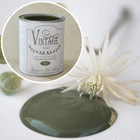 Kalkkimaali - JDL - Vintage Paint - Olive Green - Oliivinvihreä - 700 ml