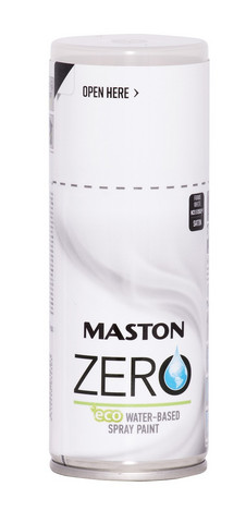 Spraymaali - Maston Zero - Listavalkoinen - 150 ml